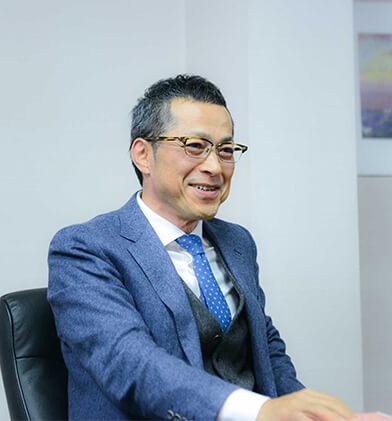 代表取締役社長松石博文